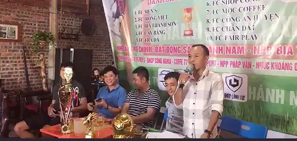 Họp báo giải Sông Lam - Đô Lương: Bom tấn làng phủi quê hương Truông Bồn