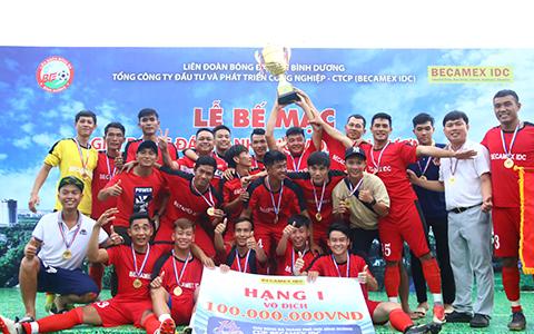 CLB Hoàng Gia vô địch Cúp Becamex IDC 2019
