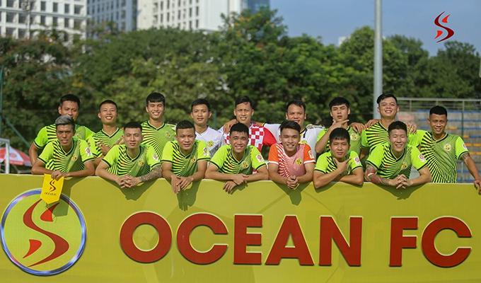 Ocean FC: Niềm tin vào dòng máu trẻ