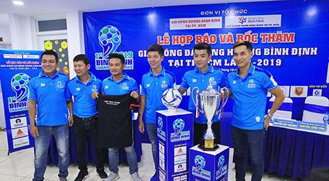 24 đội dự giải đồng hương Bình Định tại TP.HCM