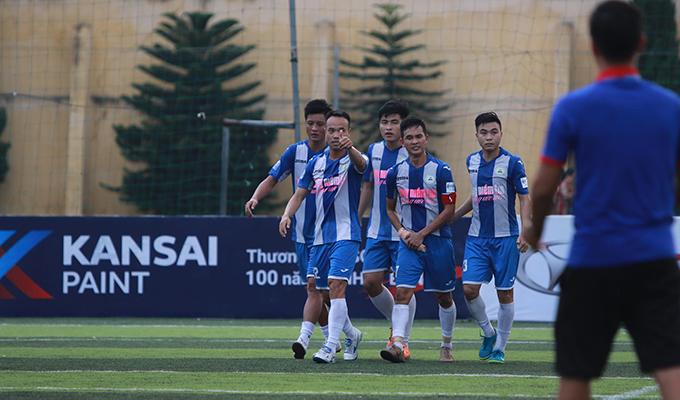 Vòng 8 HPL-S7: Du Lịch bại trận trước Tuấn Sơn ngôi đầu bảng rơi vào tay Gia Việt