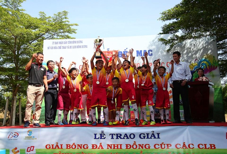 Phú Mỹ vô địch giải Nhi đồng các CLB Bình Dương lần 1 - 2019