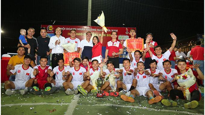 Kingtek vô địch Hội thao QNB – Cúp Kingtek 2019 một cách thuyết phục