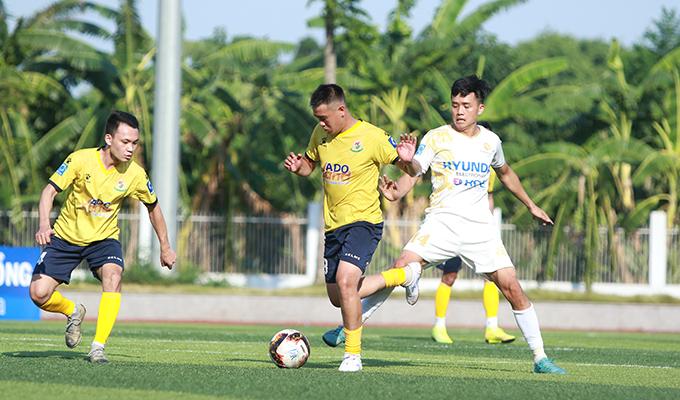 TIG 1-0 Minh Khai: Chiến thắng nhọc nhằn của TIG