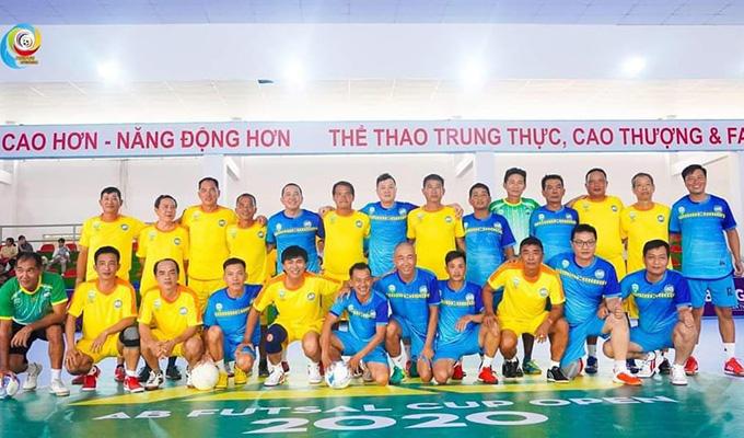An Bình Cần Thơ tưng bừng khai trương sân futsal tiền tỷ