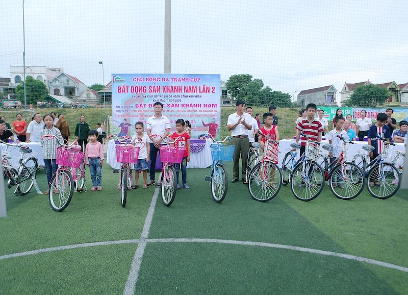 KM Đô Lương Khánh Nam lần 2: Món quà đầy nhân văn cho những trẻ em đặc biệt khó khăn