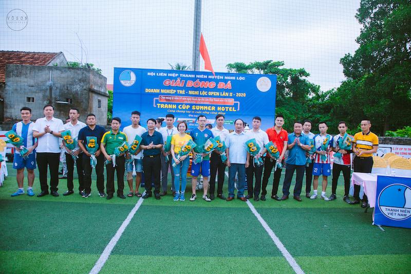 KM DN Nghi Lộc - Cup Summer 2020: Trang trọng, nhân văn và hoành tráng