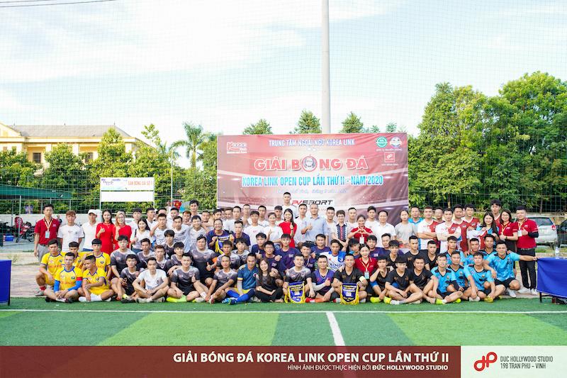 KM Korea Link Open Cup 2020: Lễ hội bóng đá cộng đồng tiếng Hàn xứ Nghệ
