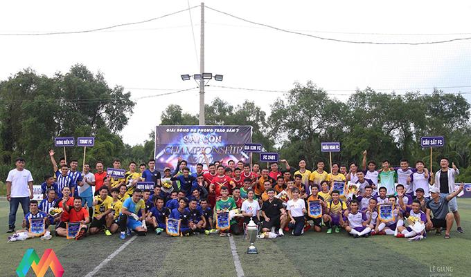 Tưng bừng khai diễn giải Sài Gòn Championship 2020