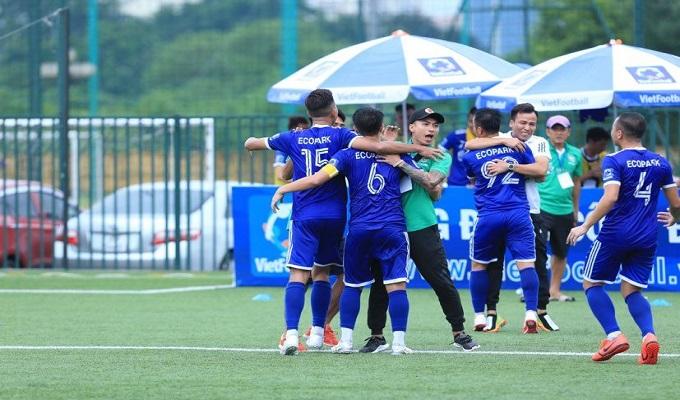 FC Ecopark 4-1 FC Luxury Hạ Long: Sảy một li, đi một dặm