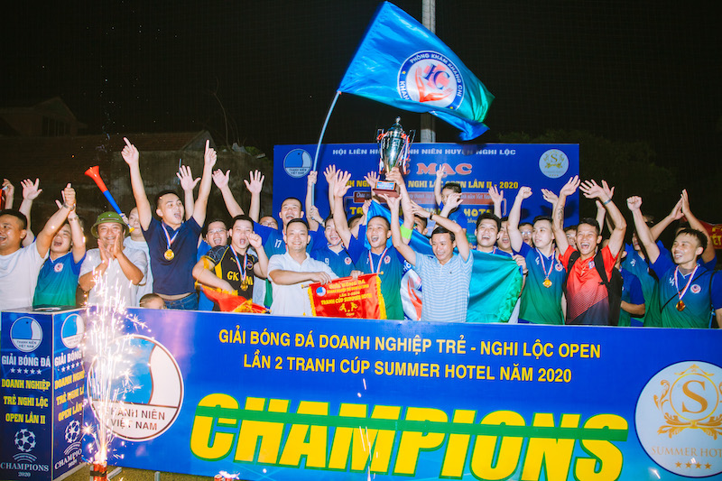 Hạ màn DN Nghi Lộc - Summer Cup: Đẳng cấp giải huyện