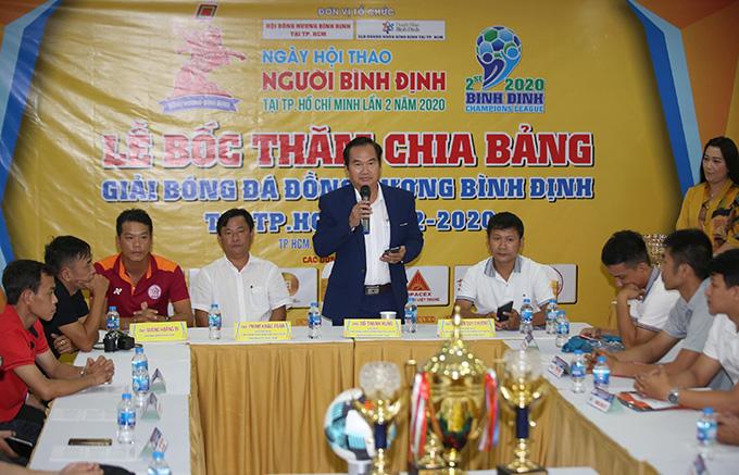 18 đội bóng dự Hội thao người Bình Định lần 2