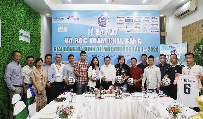 Giải bóng đá Kinh tế Môi trường lần I-2020 vung tiền thưởng lớn cho đội vô địch