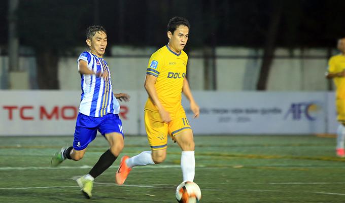 """Bưng Biền FC 1-1 Dolav W.Team: Dấu ấn của coach Đạt """"đen"""" và cực phẩm của Kiệt """"nhóc"""""""