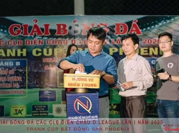 Hạ màn Diễn Châu D - League - Phoenix 2020: Món quà ý nghĩa cho đồng bào miền Trung