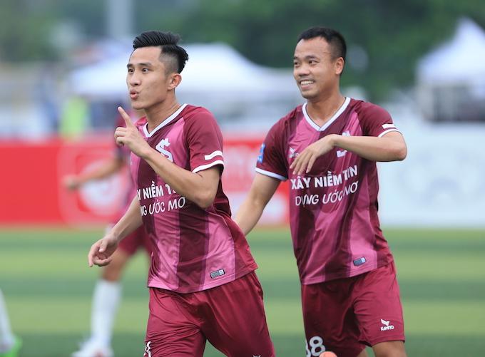 Tuấn Sơn 1-0 Việt Phương Đông: Trở lại sau vấp ngã