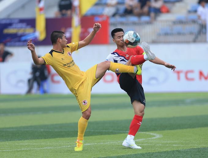 Hiệp Hoà Group 1-0 Gia Việt: Hoán đổi vị trí