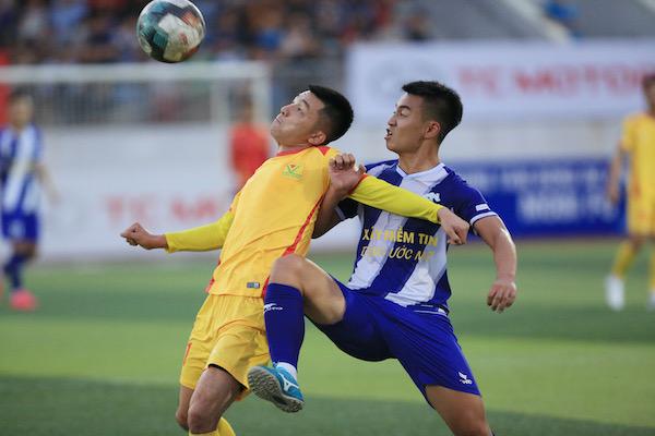 Tuấn Sơn 0 – 0 Văn Minh : Chia điểm tiếc nuối