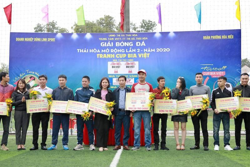 KM Thái Hoà mở rộng - Bia Việt 2020: Đại chiến chiếu phủi Tây Bắc xứ Nghệ