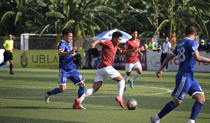 Ecopark 2-2 Du Lịch: Trận đấu của những bàn thắng đẹp