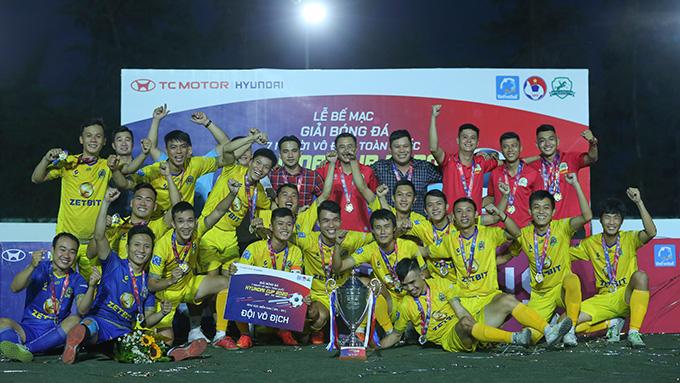 K.Sài Gòn bảo vệ thành công chức vô địch SPL-S3