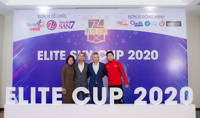 ELITE Cup 2020: Anh tài hội tụ ở chiếu phủi đỉnh cao Hà Nội