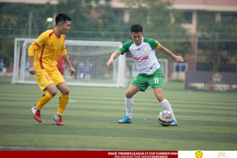 Vòng 5 Nghệ League 2020: Vua phủi Nghệ đấu cựu binh SLNA và trận cầu 6 điểm