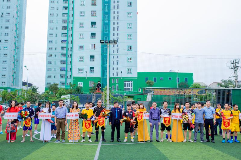 Giải ốp lát TP. Vinh 2021: Ngày hội bóng đá làng gạch xứ Nghệ