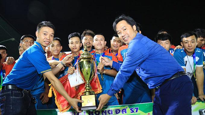 Vinaphone Phú Giáo vô địch giải bóng đá Bình Thắng mở rộng 2021