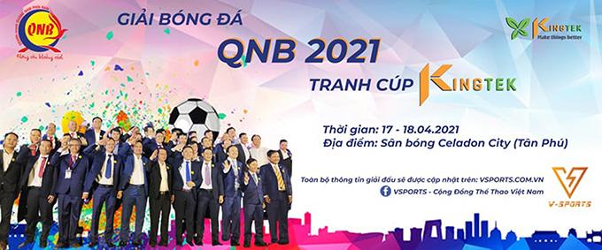 """Giải bóng đá QNB – cúp Kingtek 2021: Đương kim vô địch Kingtek quyết bảo vệ ngôi """"Vua"""""""