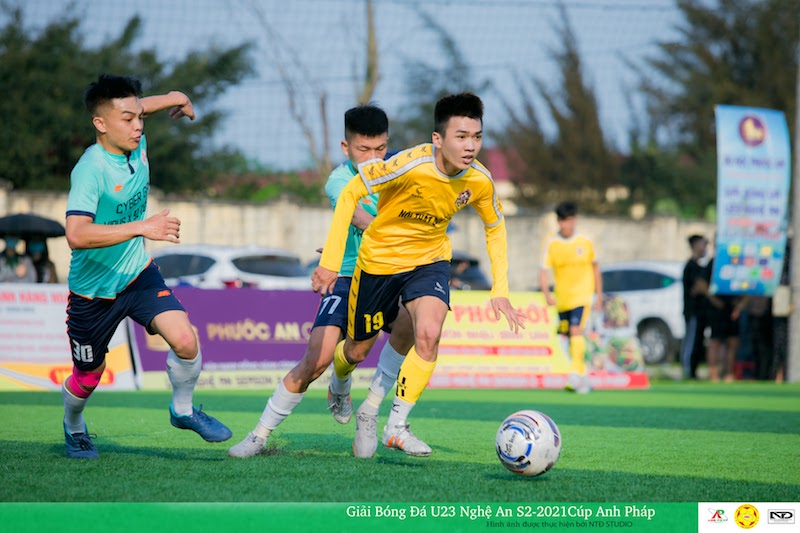U23 NA - Cup Anh Pháp: Mạnh Hồ, tình yêu và niềm cảm hứng Phương Huy FC
